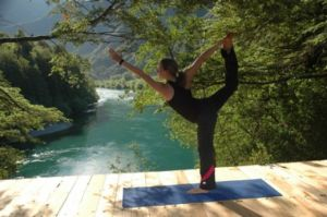 Flowing river Yoga