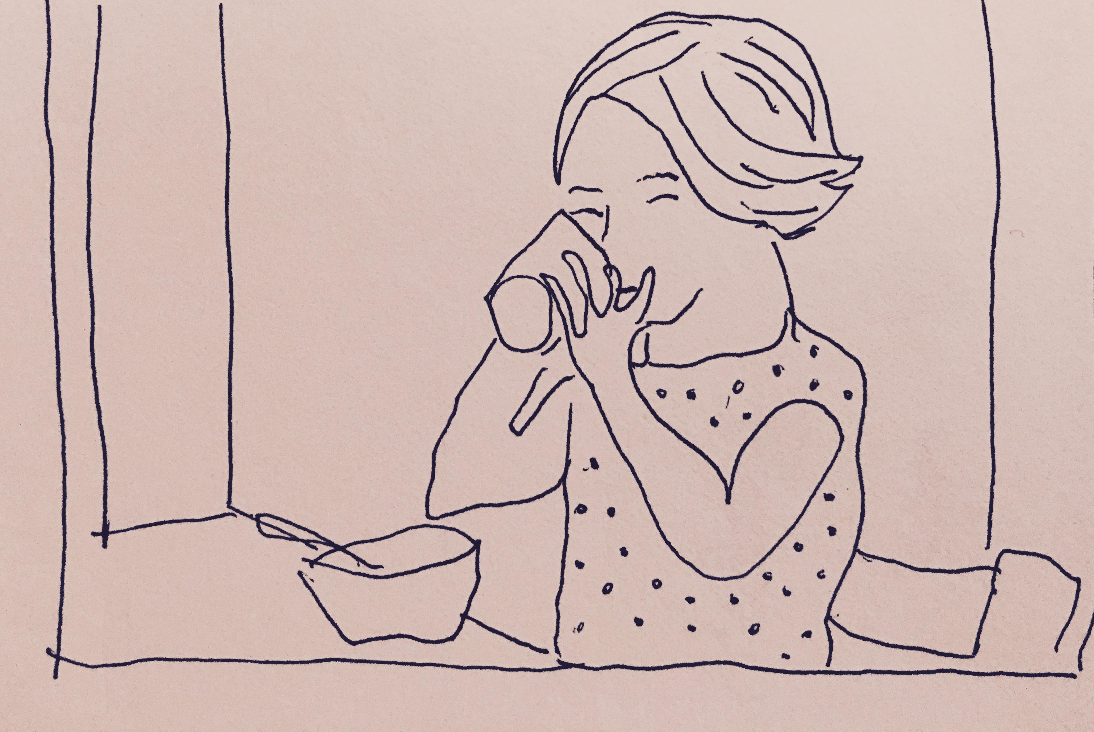 KW 03 Poised Child Drinking
